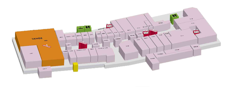 Mall Map - Empire Shopping Gallery