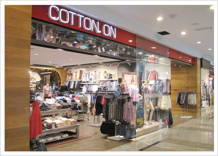 Born in , Cotton On BODY delivers world class lifestyle experiences through 'on trend' innovative ranges, making a difference to our customer in her balanced healthy life.